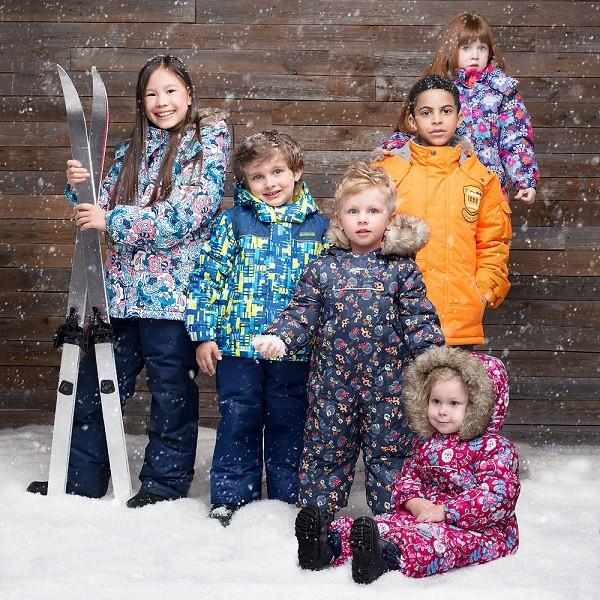 Качественная детская верхняя мембранная одежда Premont-2