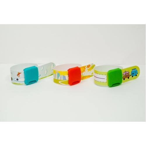 Идентификационный браслет для детей. Большой пристрой.