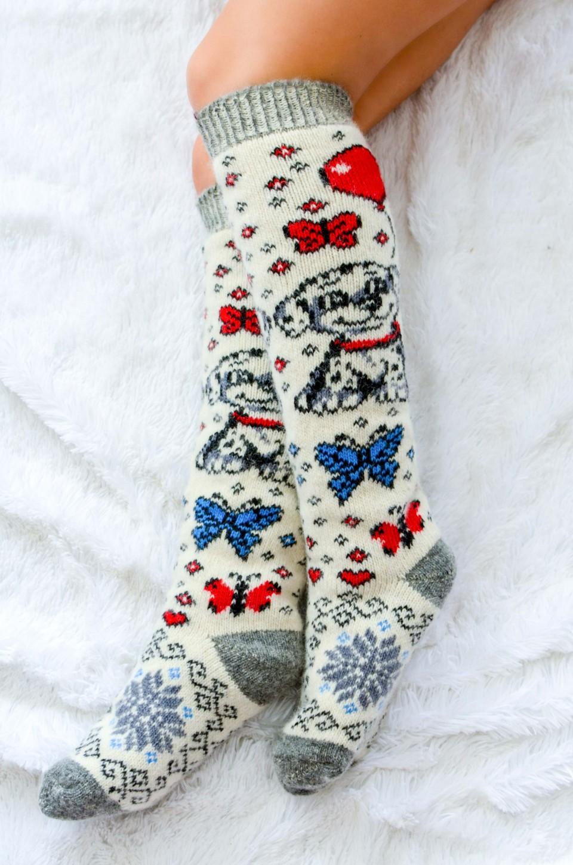 Теплые носочки, гольфы из шерсти для всей семьи