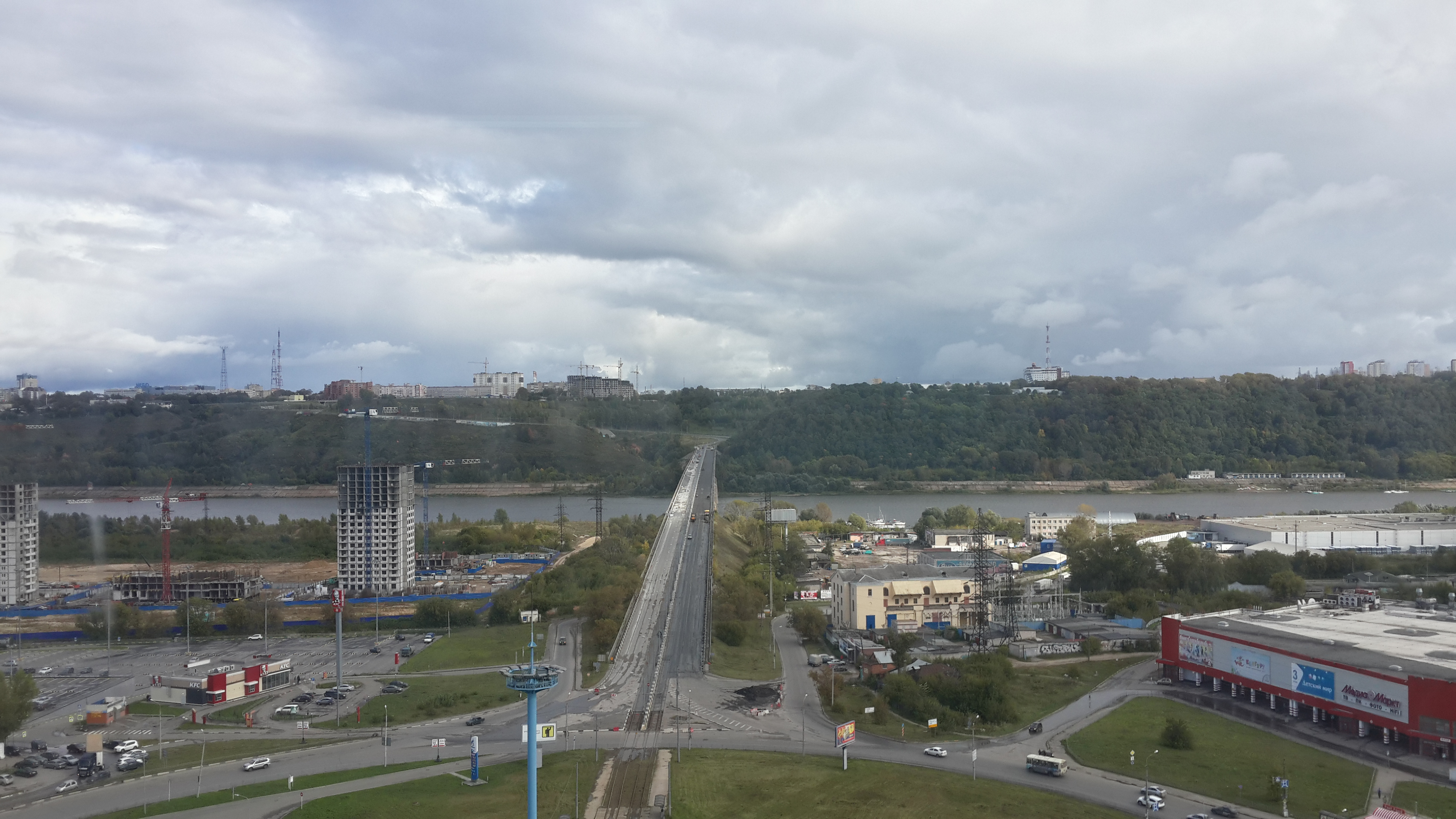 Ремонт Молитовского моста (15.09.2016)