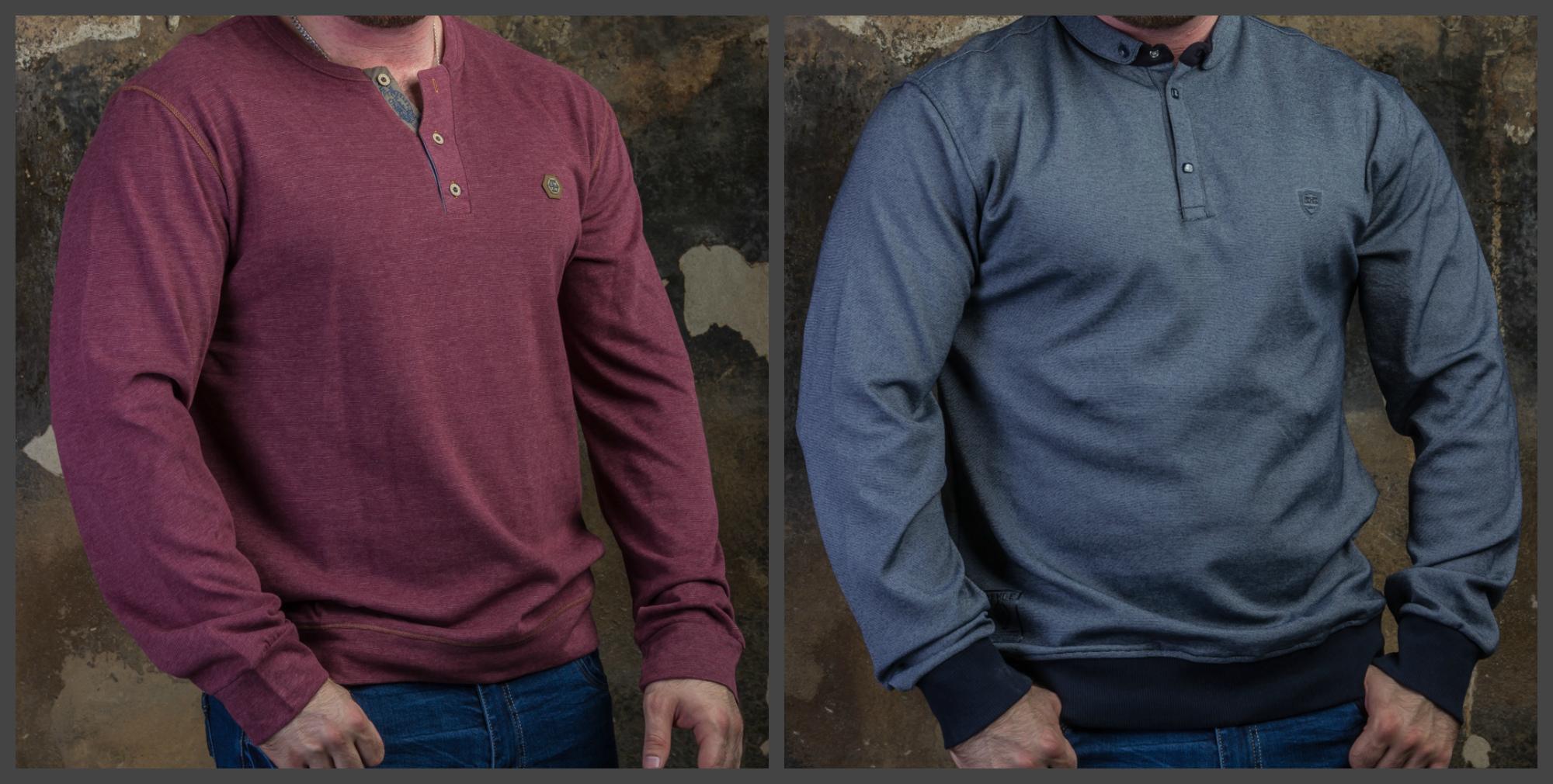Новинки: мужские толстовки и рубашки больших размеров (52-60). СТОП уже в среду, 21.09!
