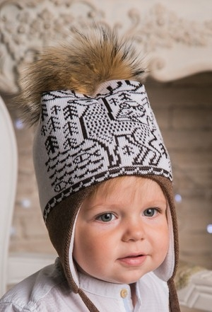 Сбор заказов. Шлема и шапочки для наших любимых детишек с пушистыми помпонами из натурального меха. Детки конфетки