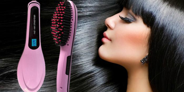 Сбор заказов. Хит-новинка 2016 года! Электрическая расческа-выпрямитель для волос Fast Hair Straightener! Вы выбросите свой старый выпрямитель! Еще дешевле! Выкуп 8.