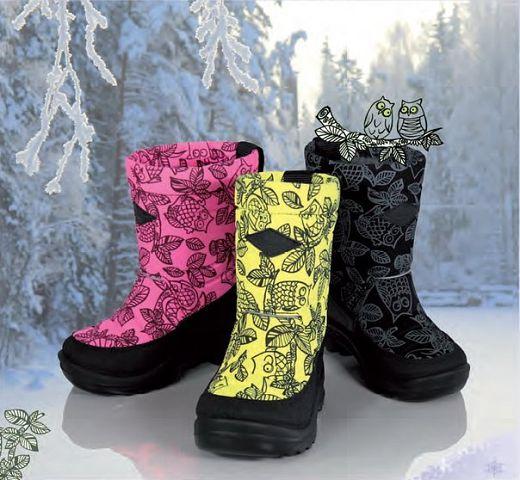 Куома- легкая и очень теплая обувь из Финляндии