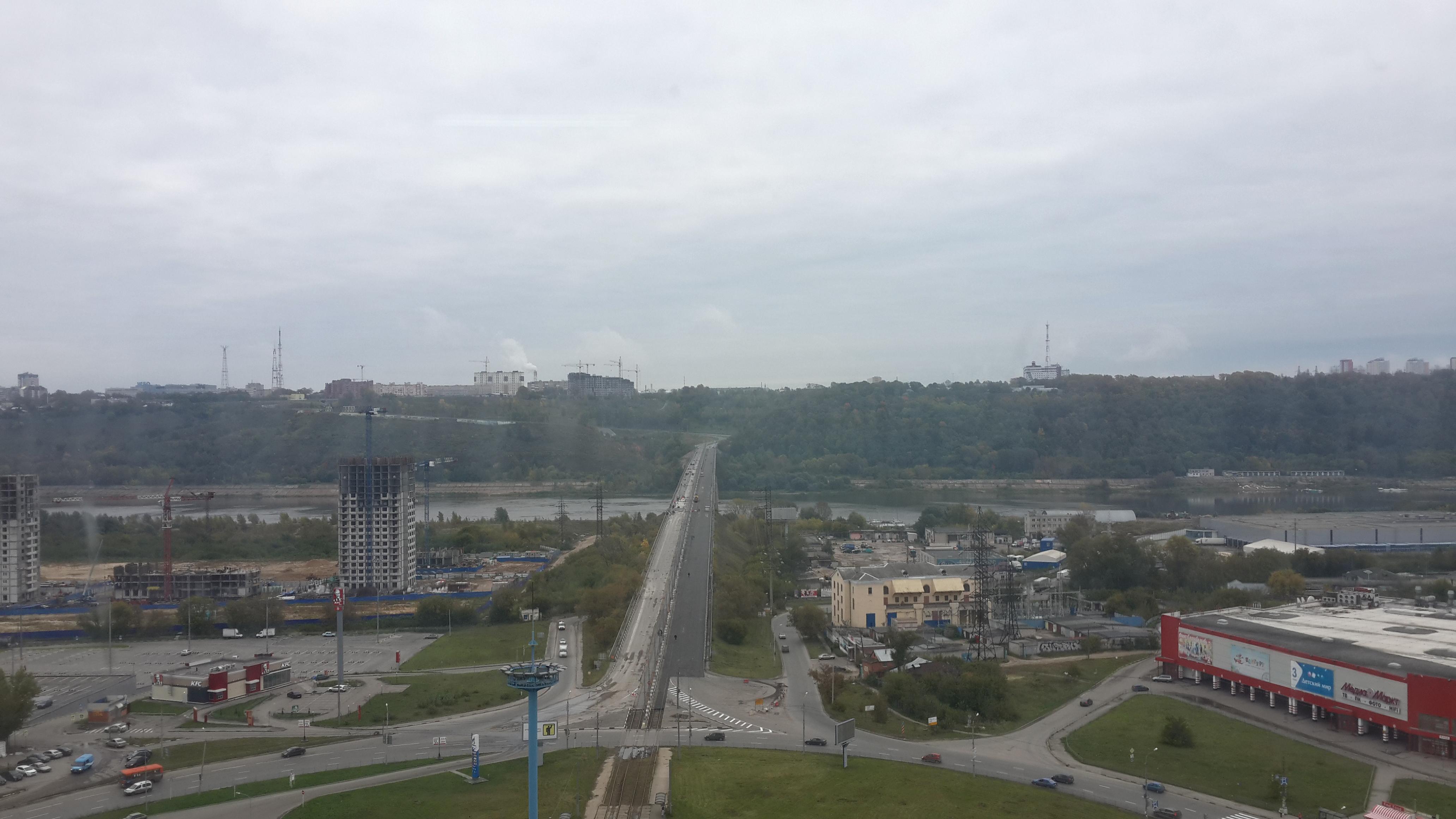 Ремонт Молитовского моста (21.09.2016)