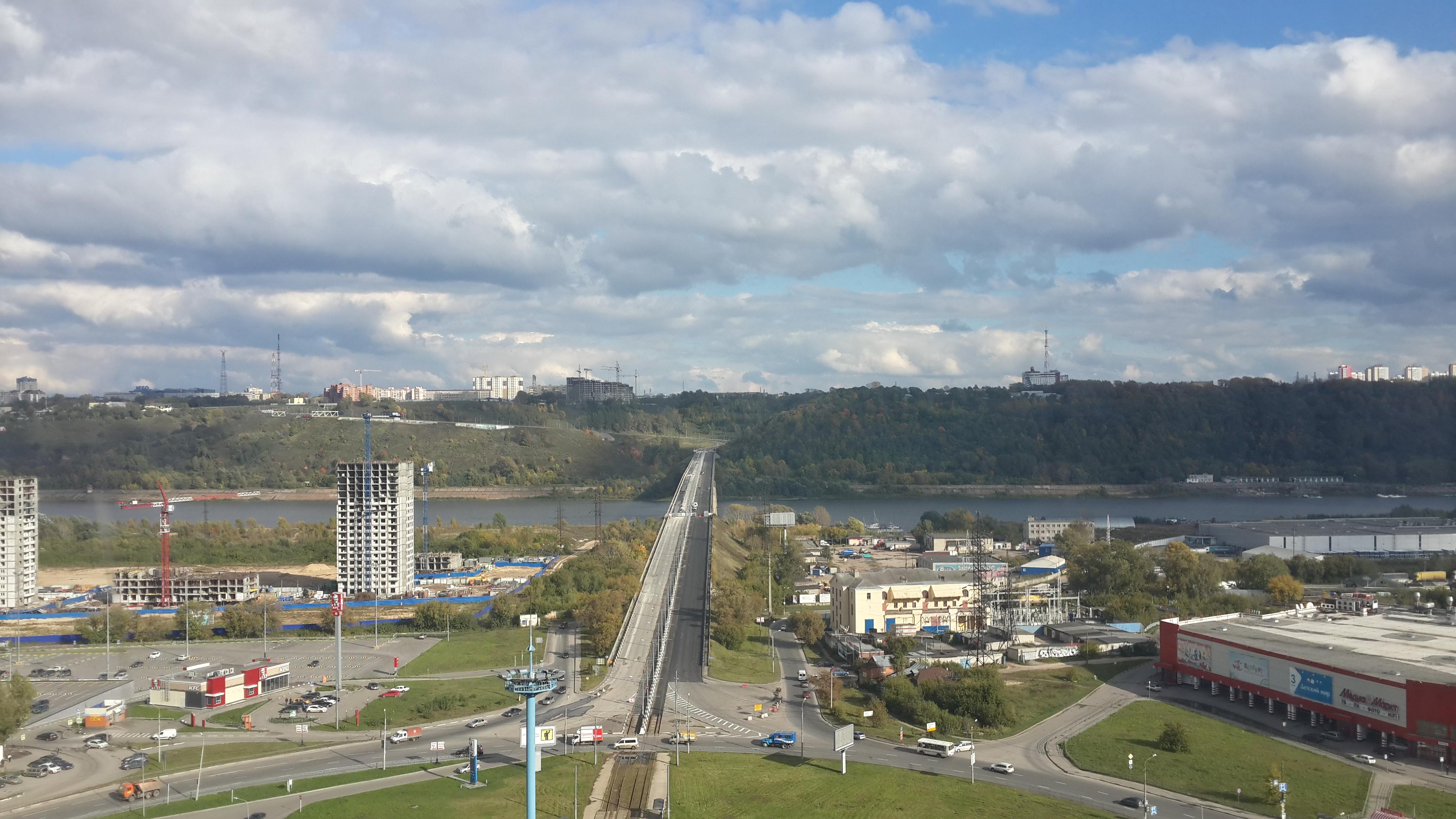 Ремонт Молитовского моста (23.09.2016)
