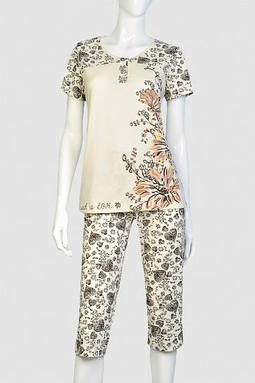 Сбор заказов. Женская домашняя одежда - недорогая, очень комфортная, модного дизайна от 42 до 64 размера: пижамы, сорочки, туники, халаты, костюмы и пр. Есть мужские футболки.