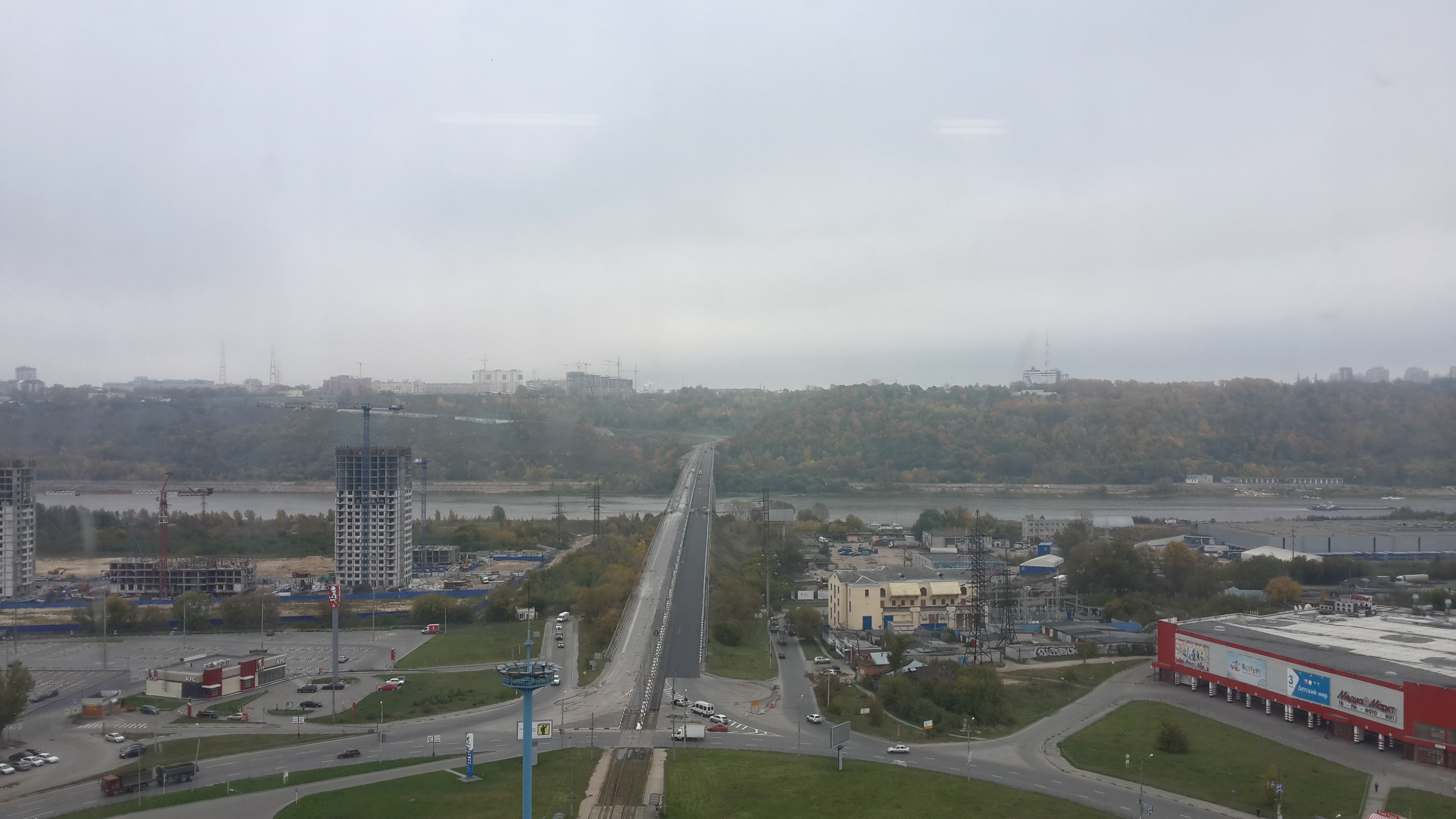 Ремонт Молитовского моста (26.09.2016)