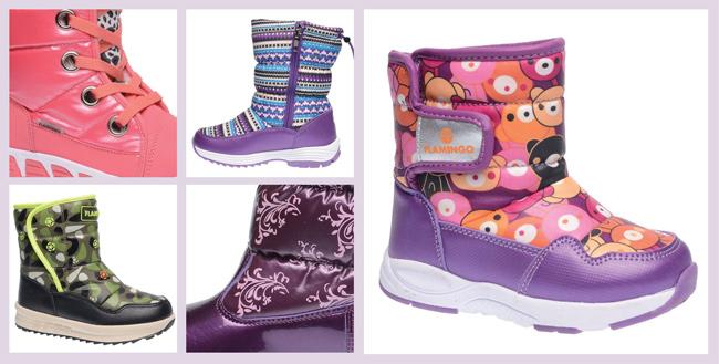 Сбор заказов. Самая лучшая детская обувь Фламинго: зимние сапожки и ботиночки, сноубутсы, демисезонная обувь, туфли и
