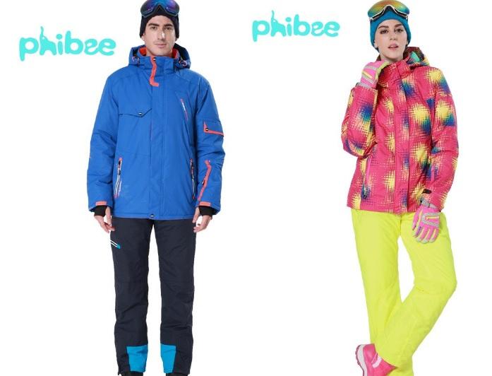Сбор заказов. Новая коллекция! Горнолыжная одежда Phibee-6 для всей семьи: костюмы, куртки, штаны. Прочная, легкая