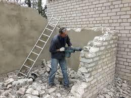 Демонтаж строений и сооружений
