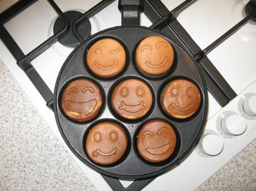 Сбор заказов.Сковорода оладушница-блинница смайлы.Новинка в мире кулинарии.Как всё таки прекрасно когда день начинается с улыбки)-1