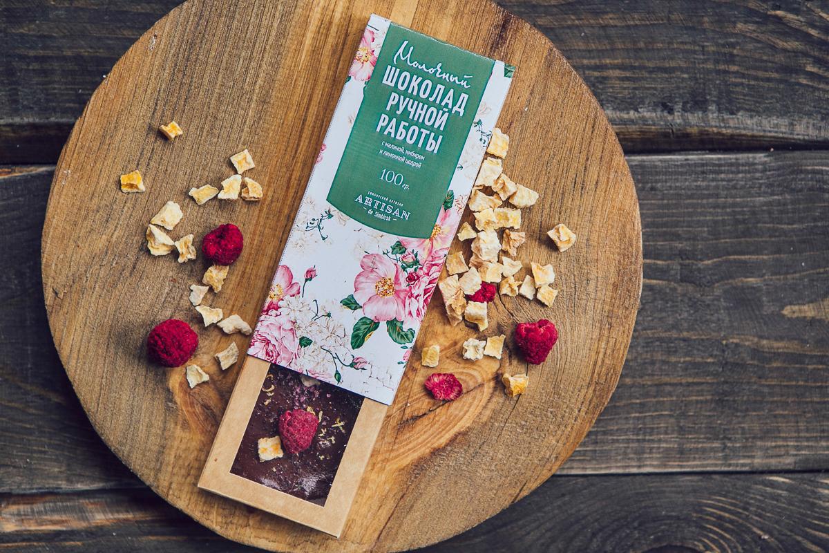 Шоколад ручной работы Симбирский Артиз@н - победитель Петербургского конкурса Interfood 2016
