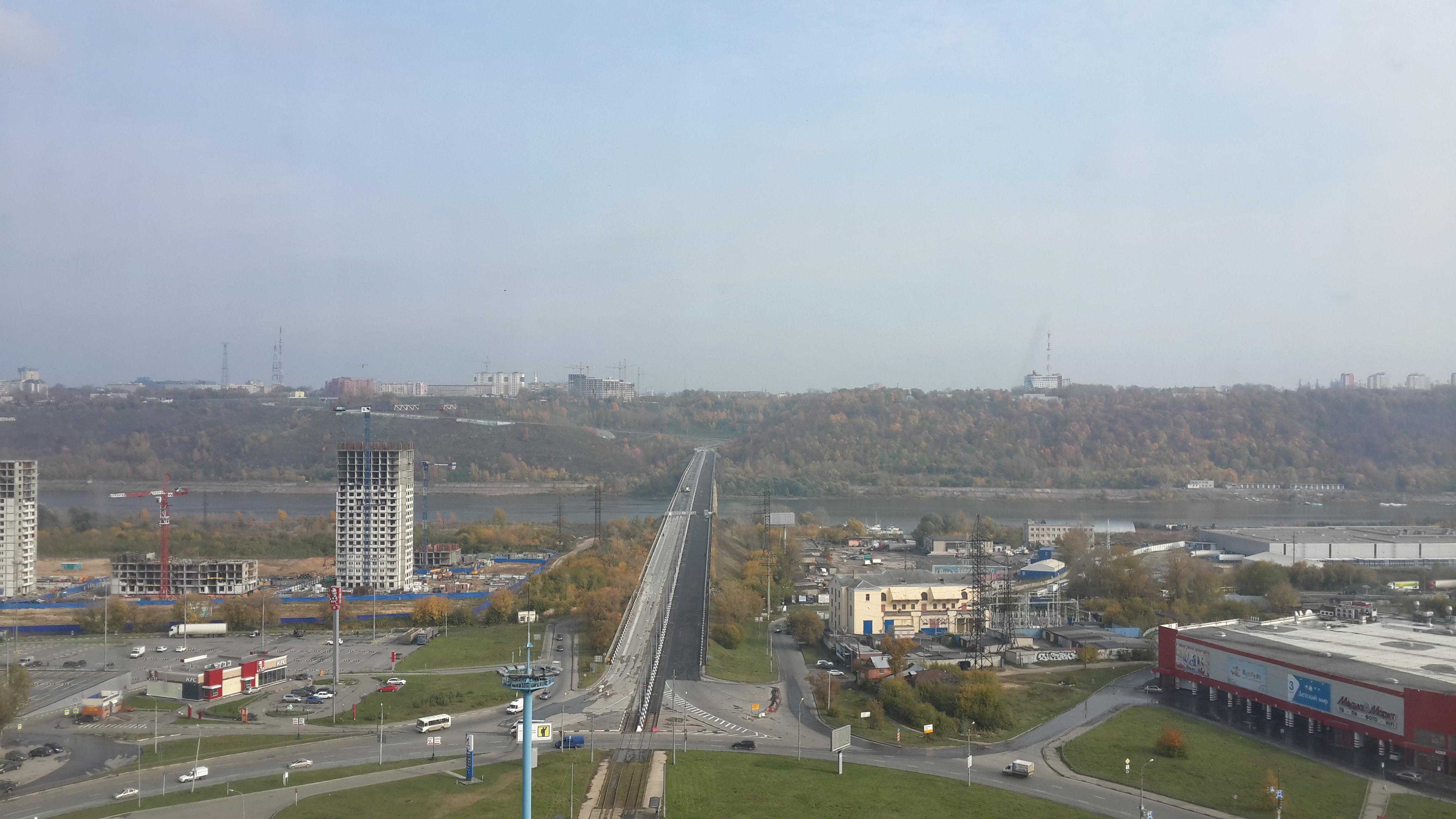 Ремонт Молитовского моста (03.10.2016)