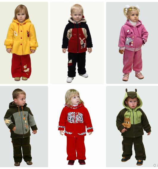Славита - рукавички-лапки и зайчики, шапки-мишки и киски, манишки с цветами: объемная аппликация в комплект к теплой куртке и комбезу.