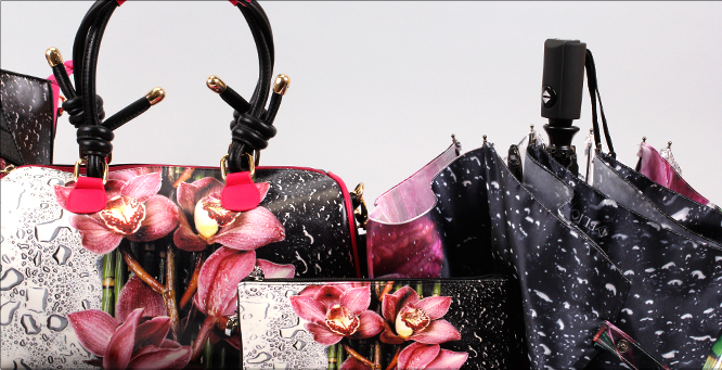 FLIORAJ: аксессуары против непогоды. Зонты, шапки, снуды, сумки- 2