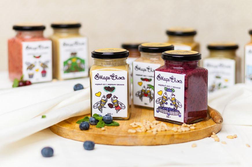 Мир меда - классический мед и несомненно аппетитный крем-мед