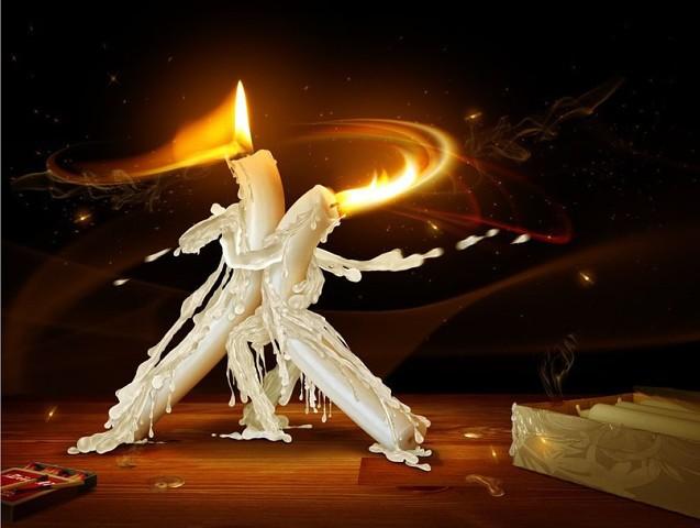 Как свеча сгорает наша жизнь