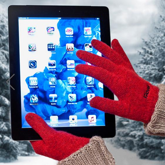 Сенсор не придется нажимать носом: теплые перчатки iGlover для сенсорных телефонов, смартфонов, планшетов. Выкуп 1/16