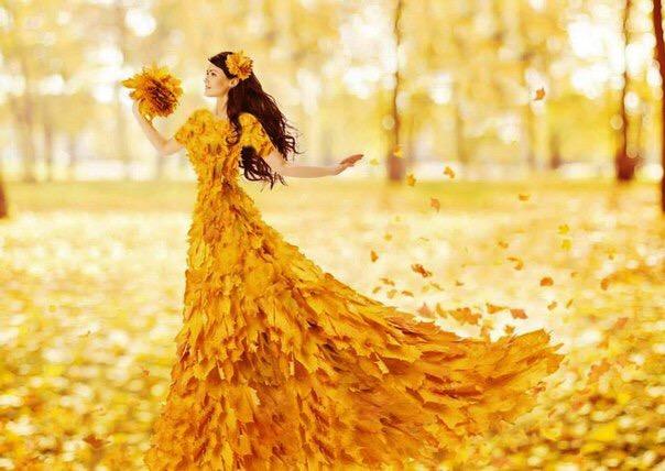 Про осень с улыбкой.