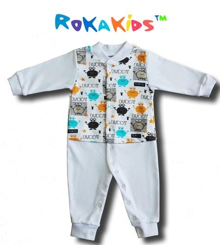 РокаКидс-10, детский трикотаж от 0 до 7 лет без рядов! Хорошее качество по низким ценам! Распашонки, пижамки, ползунки, костюмчики, полные комплекты, футболки, шорты, платья, джемпера.