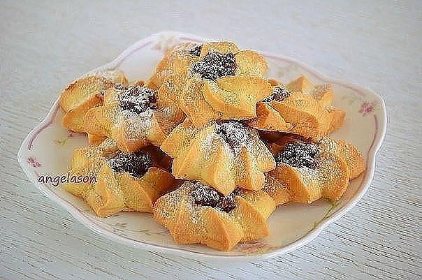 Вкусное, рассыпчатое и нежное печенье Курабье
