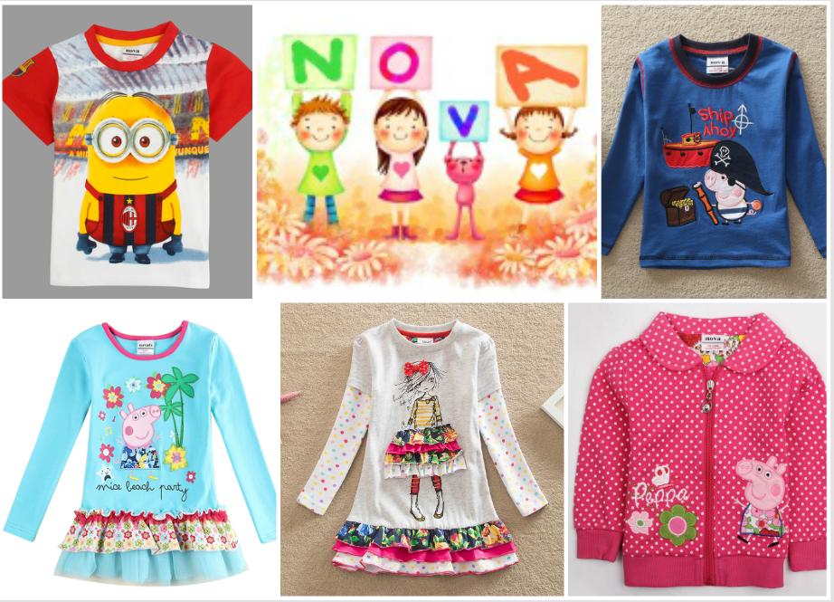 Октябрь: детская одежда Nova (Пеппа, принцесса Холли, Холодное сердца), Neat, Star, Flags, Gap и др. Футболки с длинным и коротким рукавом, платья, леггинсы, брюки, кофты, свитеры, кардиганы. А так же распродажа прошлых коллекций!