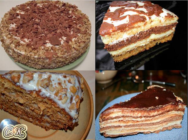 4 рецепта торта Сметанника