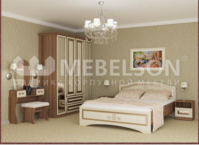 Сбор заказов. Распродажа! Шкафы-купе и спальни от современной российской фабрики со скидкой до 50%. Высокий стандарт качества! В-5