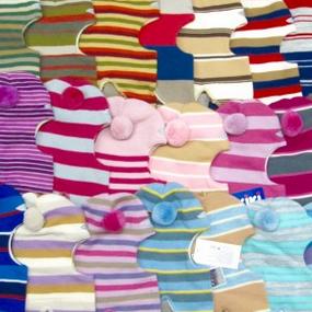 Сбор заказов. Skiki-91. Распродажа полосатиков от 898 руб .Знаменитые шапки-шлемы на изософте со стразами,помпонами и c