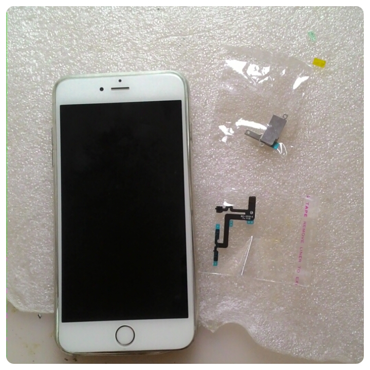 Замена шлейфа кнопок и вибромотора Iphone 6