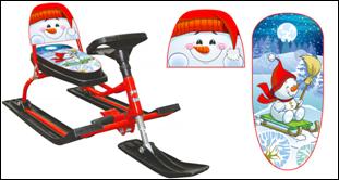 Снегокаты самые СПшные цены здесь! Весь ассортимент снегокатов со спинками, новинки зимы 2016-2017г. Снегокаты с в е л