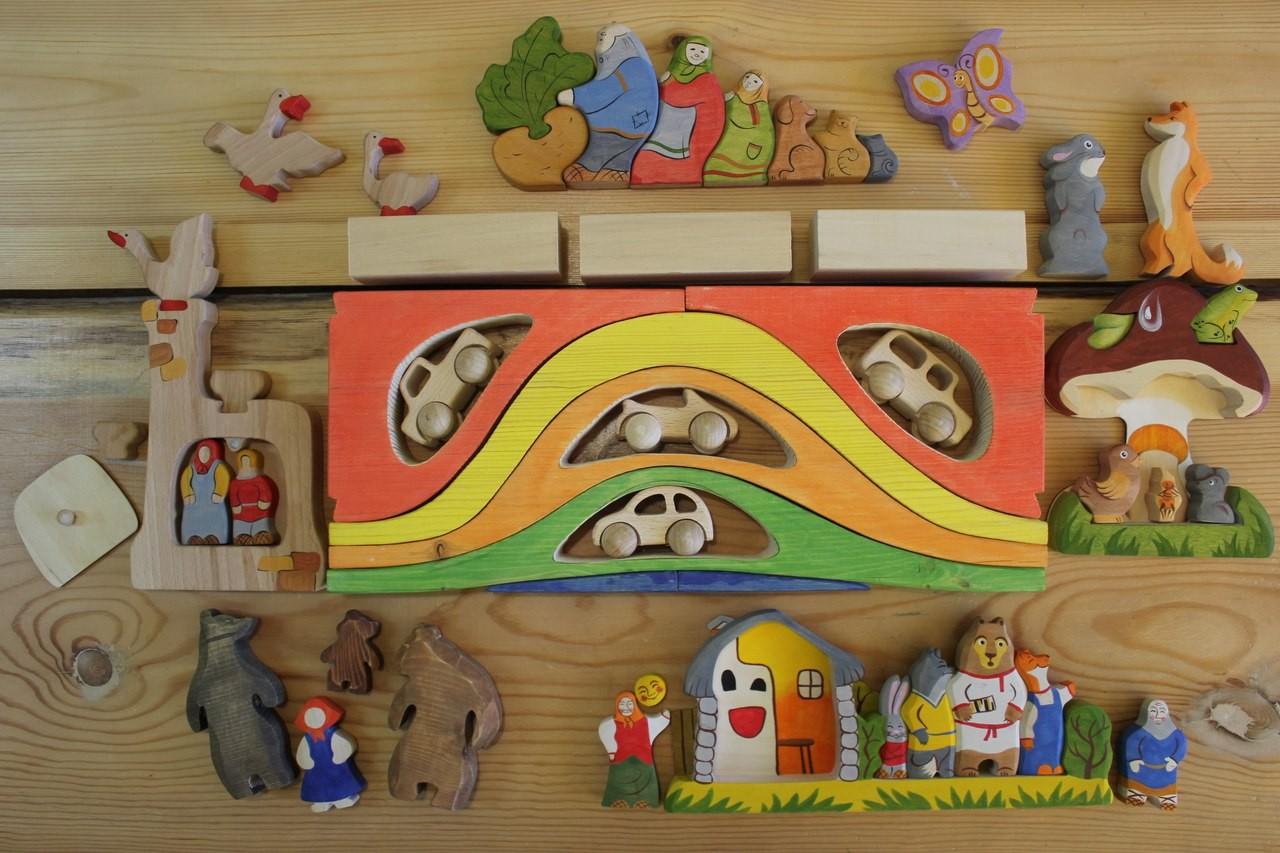 ТЕМА Сбор заказов. С к а з к и д е р е в а - Деревянные пазлы по мотивам русских народных сказок , игрушки отмечены знаком качества Детские психологи рекомендуют. Галерея 17. НОВИНКИ