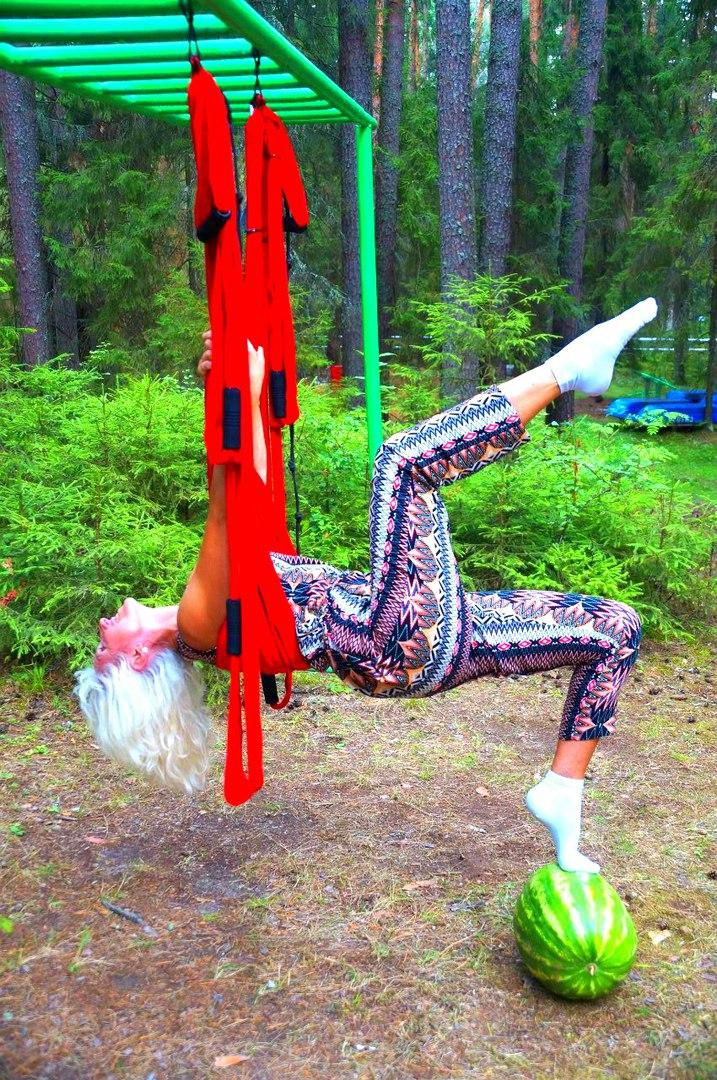 Воздушная йога доступна каждому