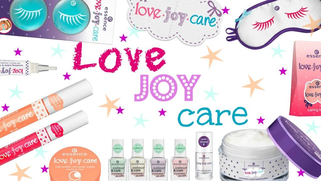 Essence) Коллекция love.joy.care