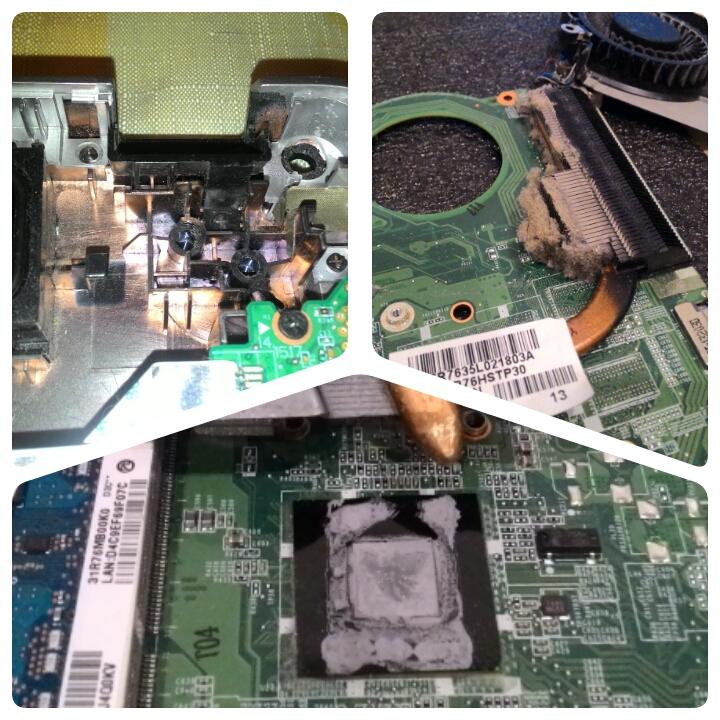 Профилактика и ремонт ноутбуков.