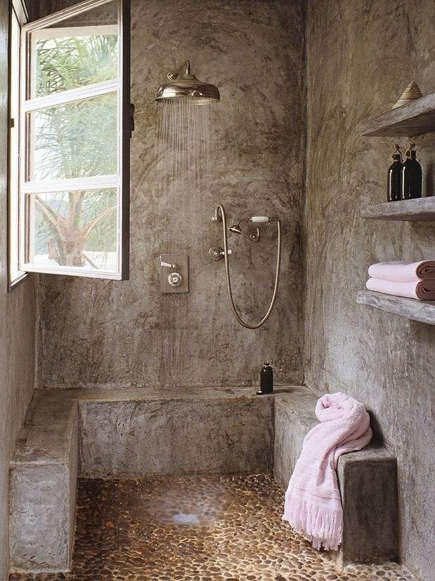 Делаем ванную из натуральных материалов