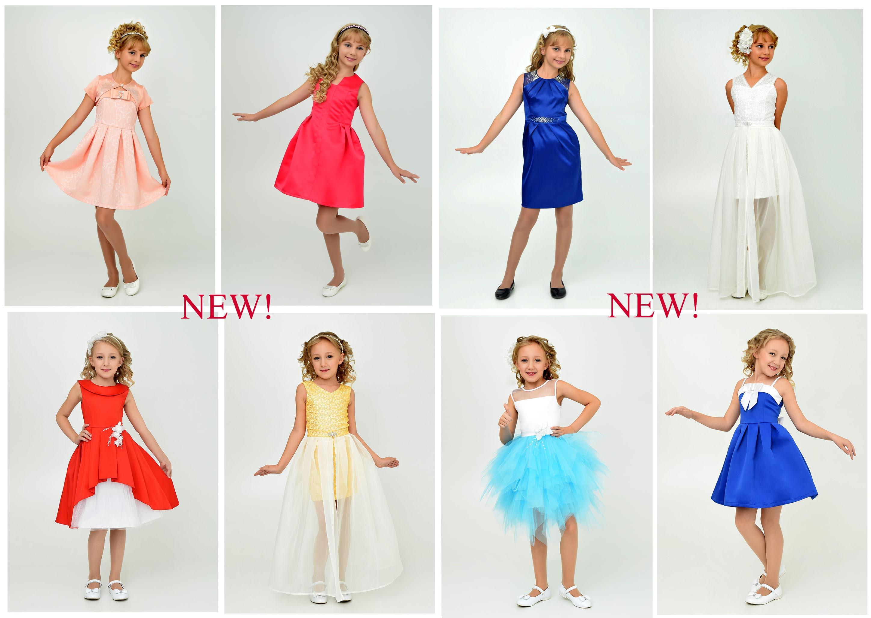 Экспресс-сбор. Новая коллекция нарядных и повседневных платьев от Ладетто. Размеры от 98 до 164! Готовимся к праздникам