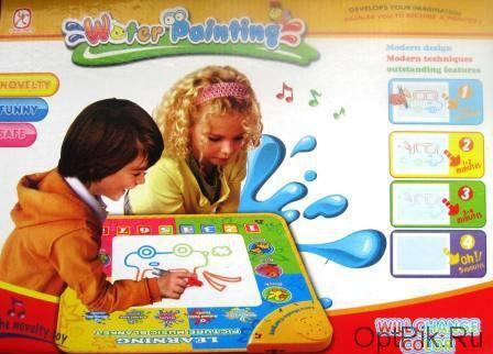 Рисуем водой! - акваковрики - отличный подарок и развлечение