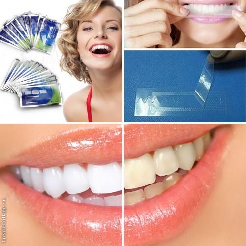 Отбеливающие полоски для зубов! Аналог Crest 3d white