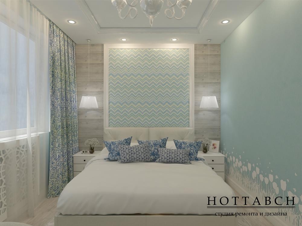 Дизайн спальни, дизайн квартиры в Нижнем Новгороде