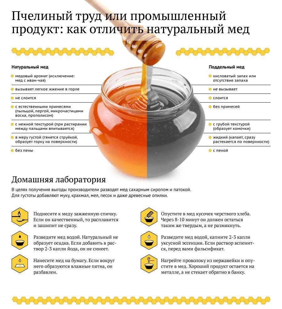 🐝Как отличить натуральный мёд от поддельного