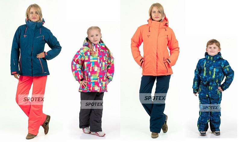 Спотекс-49. Горнолыжные костюмы, куртки, парки, ветровки, спортивная одежда. Для детей от 98 см и взрослых до 62-го размера. Без рядов, гарантия по цвету, наличие он-лайн!