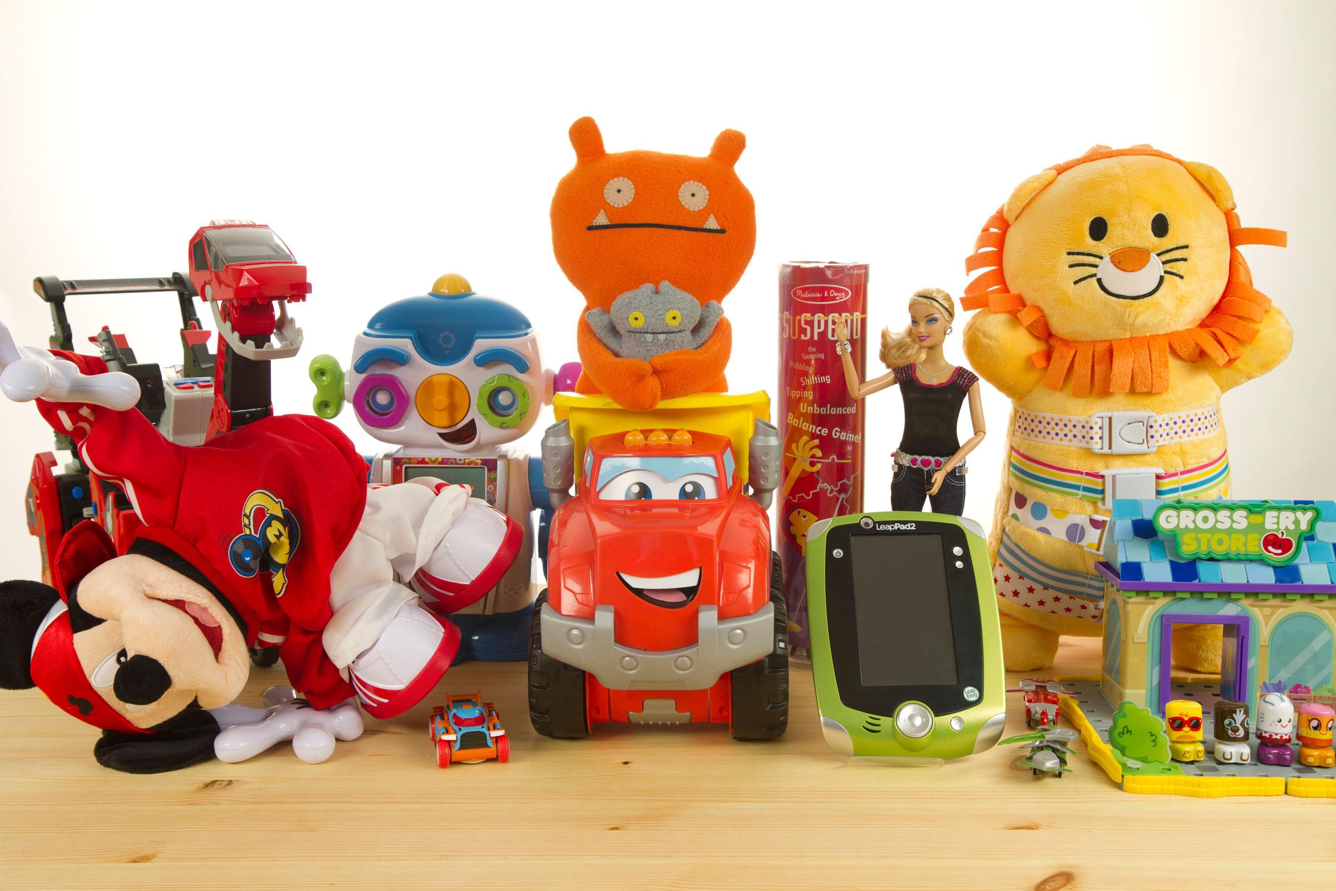 Игрушки от компании Бэмби