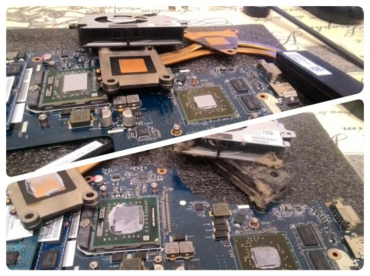 Профилактика системы охлаждения ноутбука HP