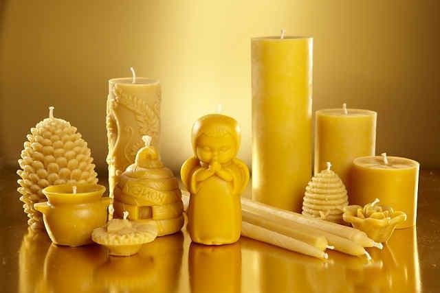 Восковые свечи для создания особой атмосферы тепла и уюта!
