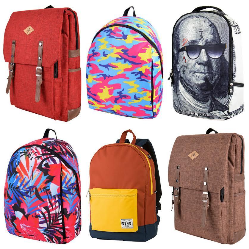Ё-style для молодых и стильных-10! Невероятных расцветок рюкзаки, шапки, варежки и перчатки, кошельки, ремни, яркие носки и 309 расцветок галстуков-бабочек