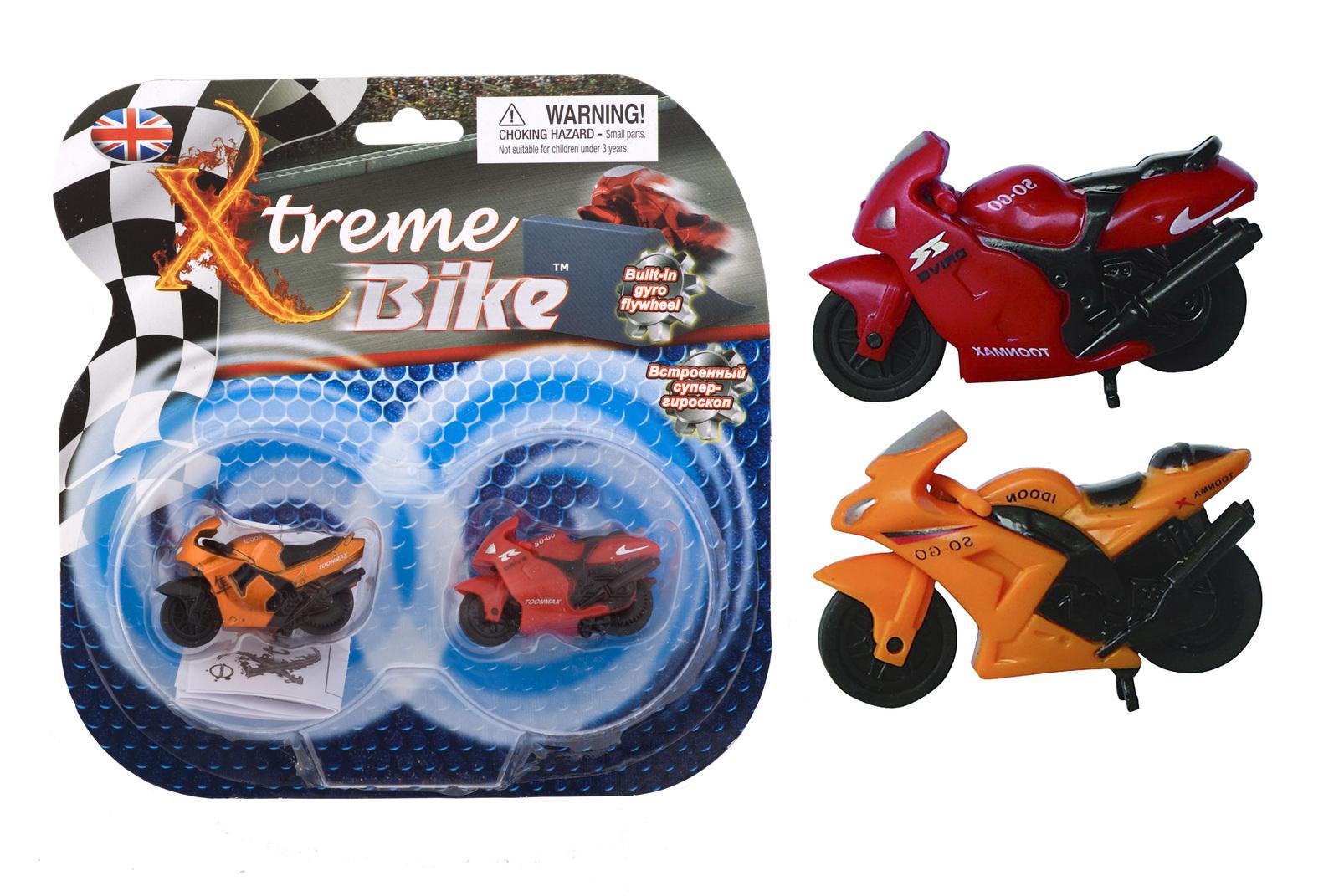 Бешеные мотоциклы - супер-трюки, супер-веселые игрушки)
