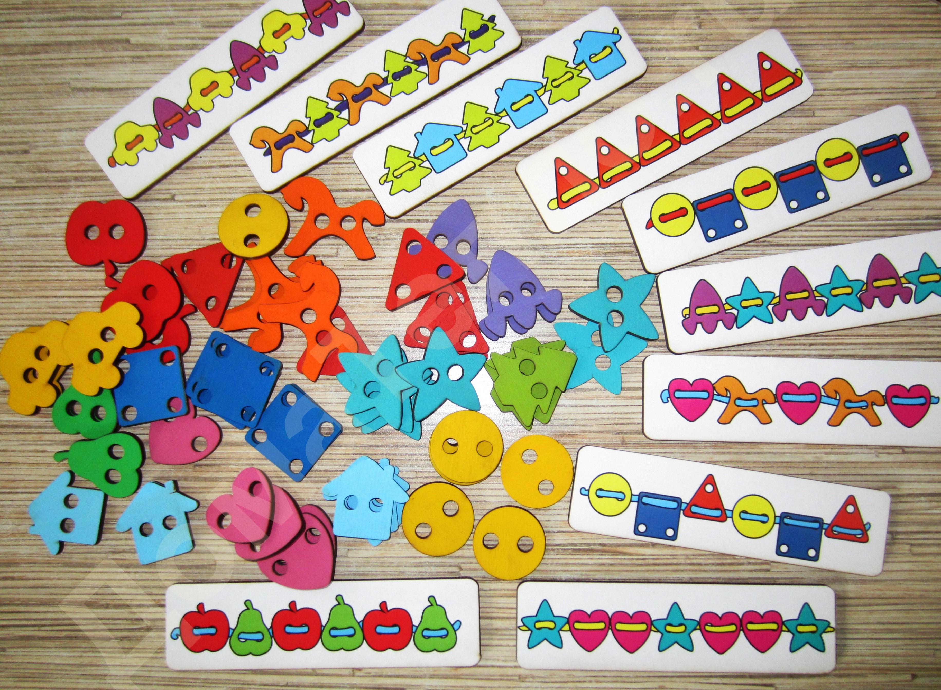 Smile Decor - развивающие игрушки, заготовки для творчества. Авторские методики: Б.П.Никитин, М.Монтессори, Э.Сеген - 5