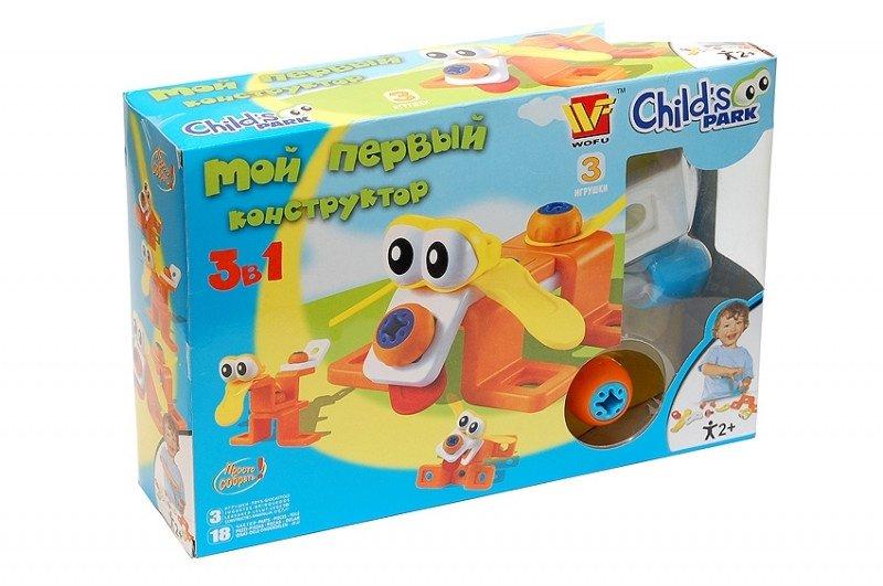Конструктор одна из лучших развивающих игрушек, творите вместе-3
